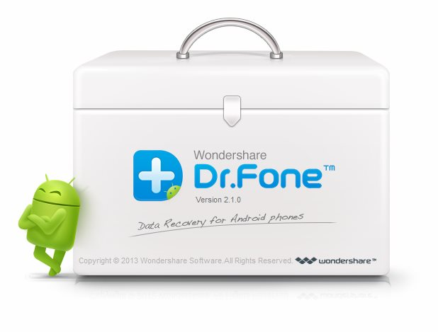 Wondershare Dr.Fone Android Cover