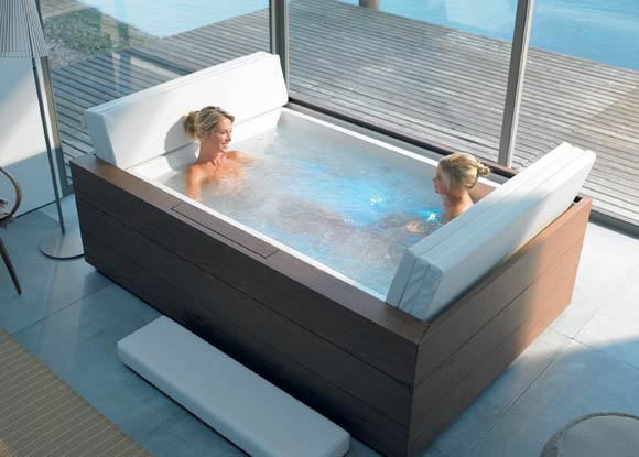 C mo y d nde instalar en casa un jacuzzi para disfrutar for Piscinas para terrazas