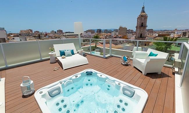 C mo y d nde instalar en casa un jacuzzi para disfrutar - Jacuzzi para terraza ...