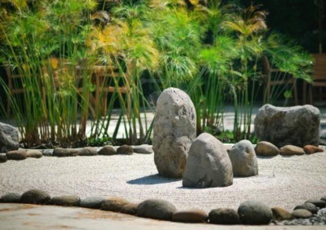 zen10820974-un-tranquillo-giardino-zen-pietra-con-pianta-di-papiro-1024x721