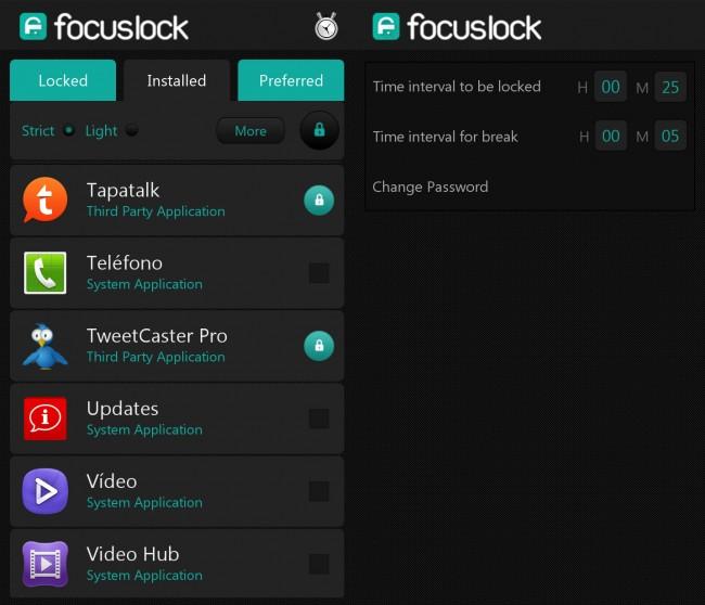 Focus-Lock-Android