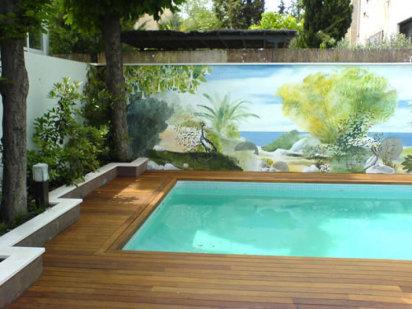 C mo instalar un patio urbano funcional de acuerdo al for Piscinas y terrazas ideales