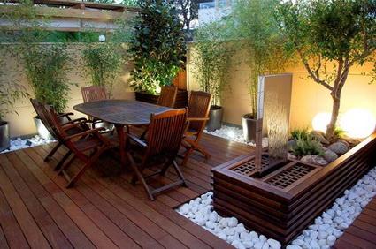 C mo instalar un patio urbano funcional de acuerdo al for Decoracion de patios chicos