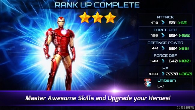 Instalar en tu Android el original videojuego Marvel Future Fight