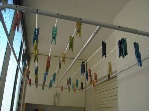C mo instalar un tendedero y d nde ideas para colocar t nder - Tendederos de ropa ...
