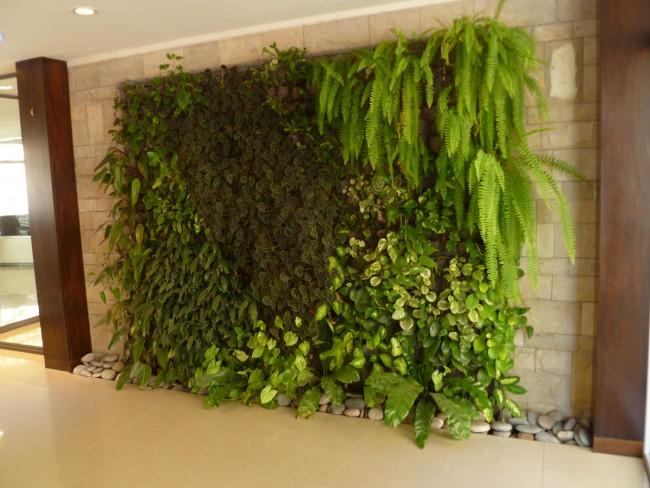 Consejos para instalar un jardín vertical