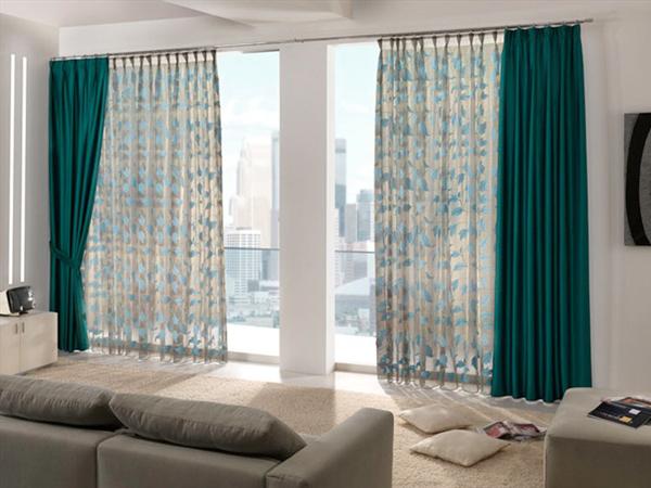 Como elegir cortinas para tus ventanas for Como poner cortinas
