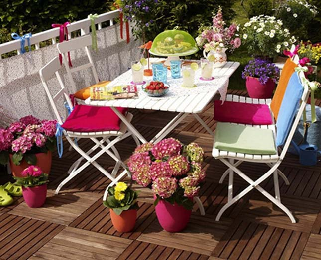 Instalar Un Jardín En Tu Balcón O Terraza Con Flores Piedra