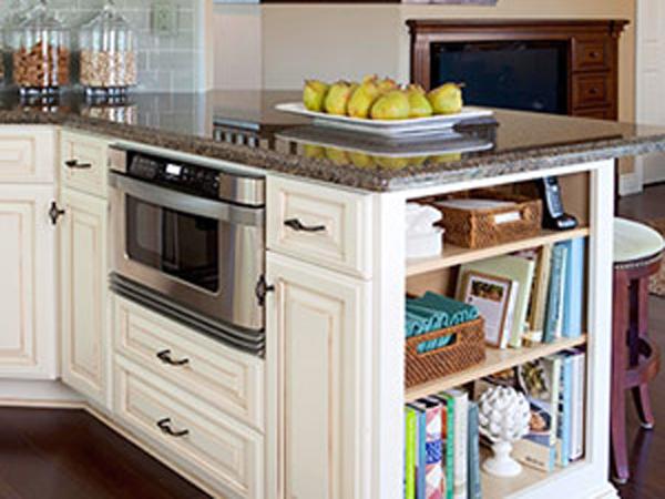 Donde instalar un microondas en tu cocina - Donde colocar tv en cocina ...