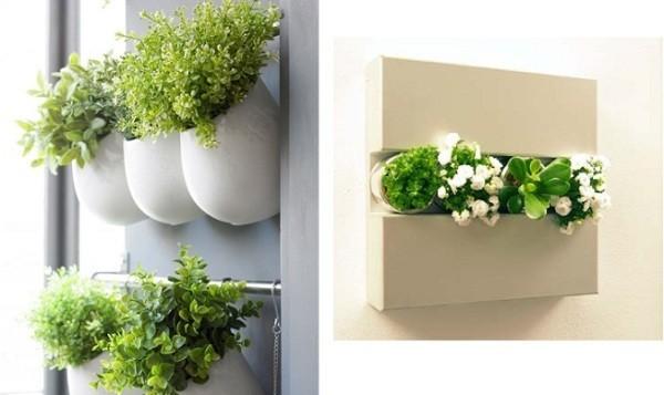 C mo instalar un jard n vertical peque o en la terraza for Plantas recomendadas para jardin vertical
