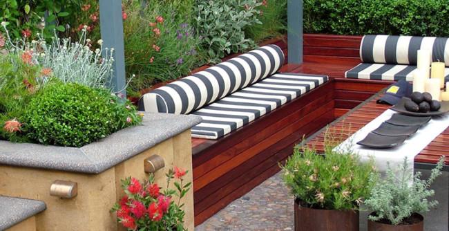 Disponer Plantas En Un Jardin Pequeno Que Conviene Elegir - Ideas-para-decorar-un-jardin-pequeo