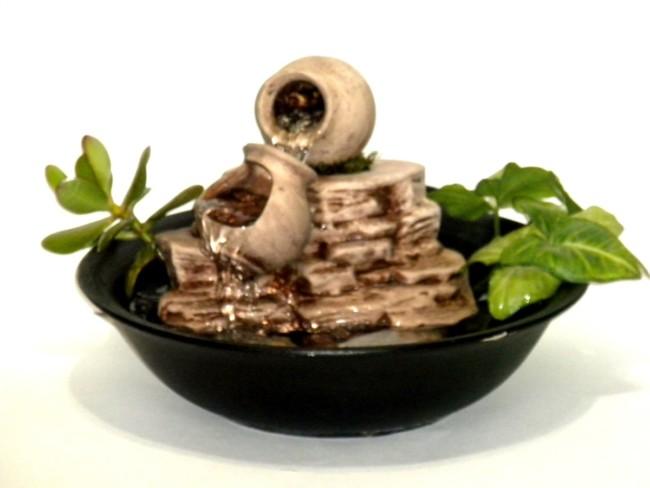 Instalar una fuente de agua decorativa en el jardin modelos for Fuente agua feng shui