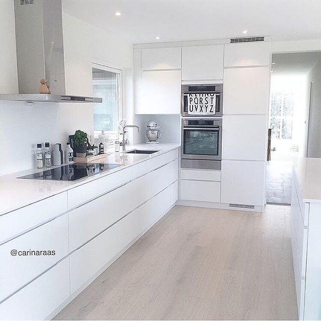 Como decorar cocinas modernas 166 im genes - Cocinas blancas rusticas ...
