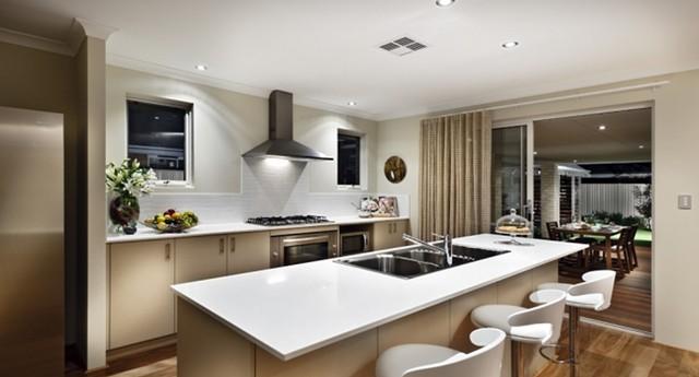 Como decorar cocinas modernas 166 im genes - Cocinas con islas modernas ...