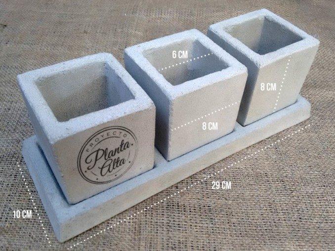 Como Hacer Macetas De Cemento Concreto U Hormigón
