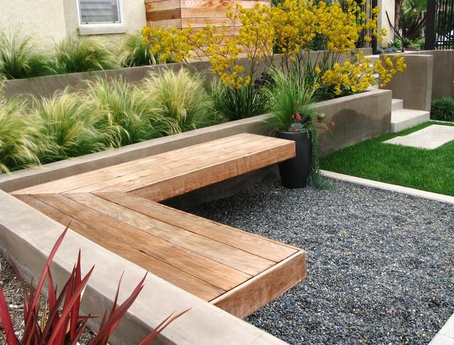 en caso de jardines contemporneos es importante tener en cuenta que debe entrar por todos los sentidos no solo por la vista es fundamental crear una - Decorar Jardines Pequeos