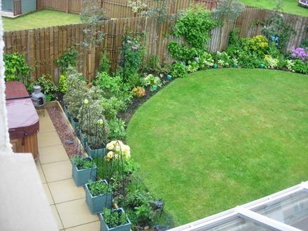 Dise o y decoraci n de jardines peque os y modernos 90 for Ejemplos de jardines