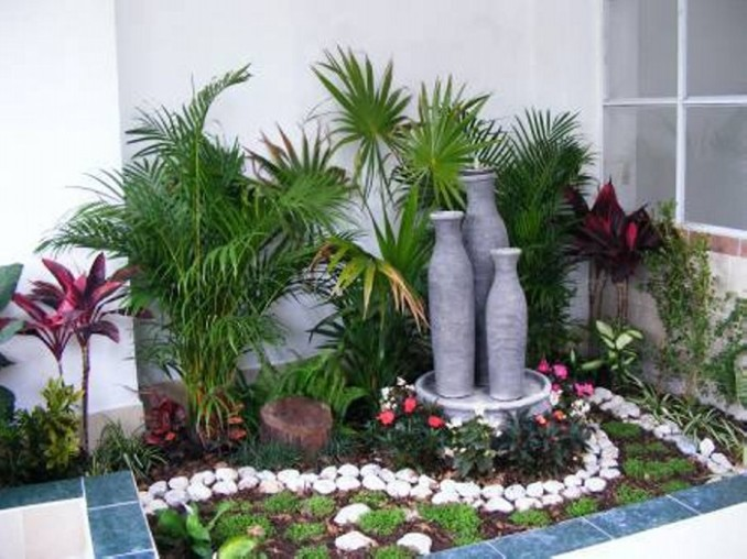 aqu podrn apreciar varias imgenes de jardines pequeos que no por su tamao dejan de ser bellos y acogedores - Jardines Pequeos