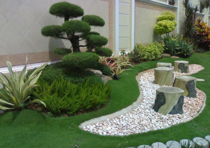 pequeo jardin geomtrico - Diseo De Jardines Pequeos