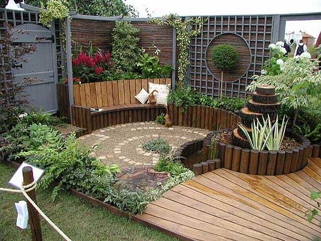 desde ya que estos pequeos jardines necesitan de un cuidado especfico puntual para mantener su aspecto prolijo - Diseo De Jardines Pequeos