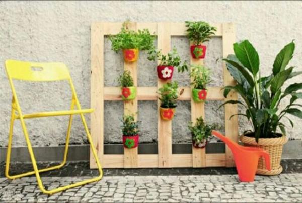 Decorar Con Palets El Jardin Free Decorar Con Palets El Jardin With - Decorar-jardines-con-palets