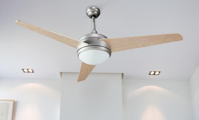 C mo colocar un ventilador de techo con luz uno mismo - Ventilador de techo con luz ...