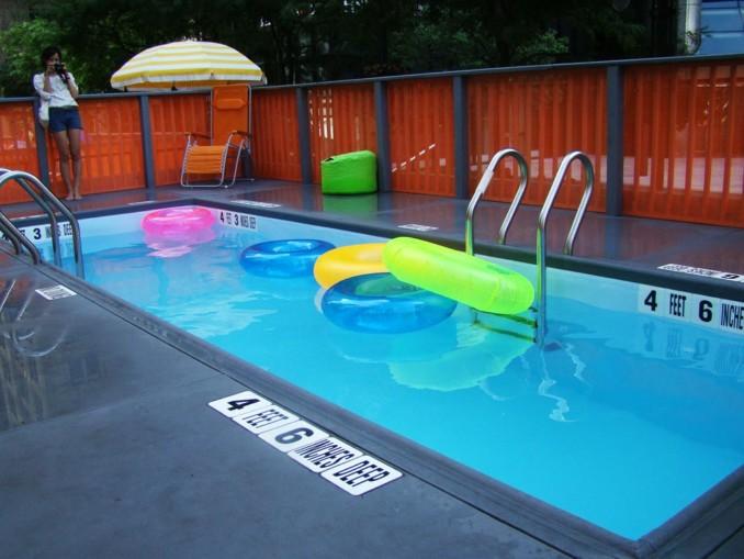 Containers reciclados c mo pileta de nataci n instalados for Se hacen piscinas