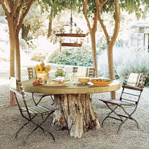 10 ideas de muebles de exterior para jardin para hacer con las ...