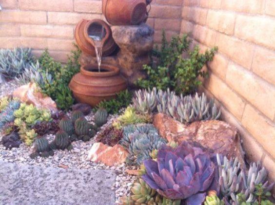 Decoracion De Jardines Con Rocallas Grandes Y Pequenas