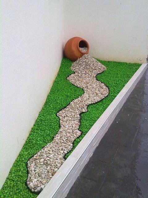 vern las diferntes combinaciones con piedras y plantas que puede servirles de inspiracin para el propio jardin de piedras de colores - Piedras Jardin