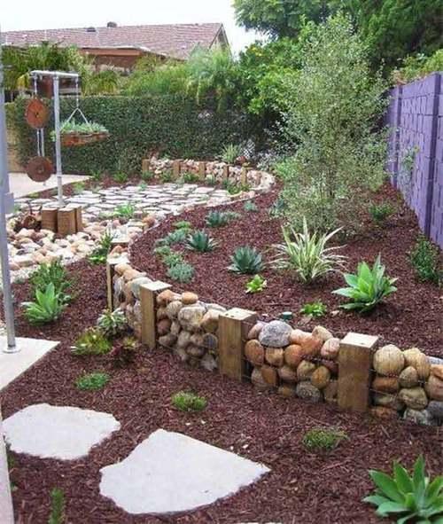Cmo hacer jardines pequeos con piedras de colores o rockolors