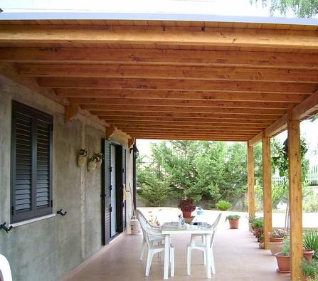 C mo construir una galer a con techo de madera - Fare il cappotto interno alla casa ...
