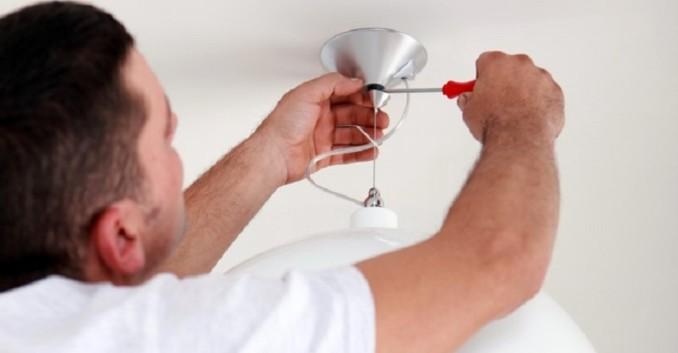 C mo instalar lamparas colgantes y de pared - Instalar lampara techo ...