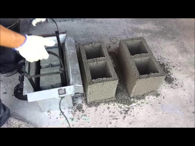 Cómo Hacer Bloques De Cemento Concreto U Hormigón