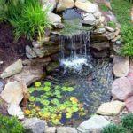 Cascadas de agua para el Jardín