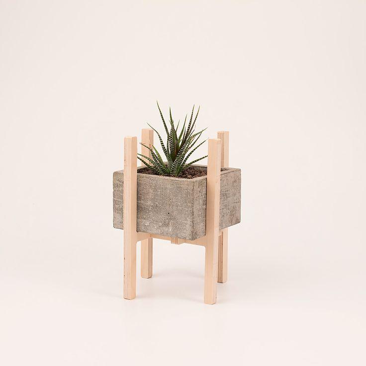 C mo hacer maceteros de cemento macetas en todos los - Como fabricar maceteros de madera ...