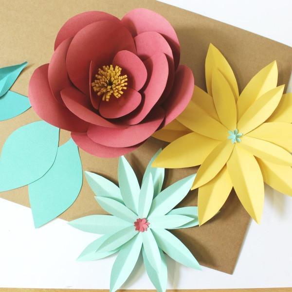 Como Hacer Flores De Papel Rosas Y Mas Flores Paso A Paso