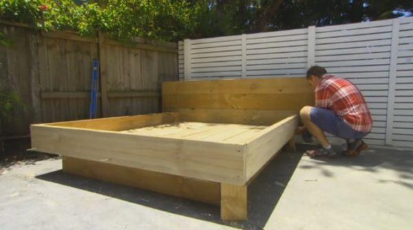 Cómo Construir una CAMA de Madera Facilmente