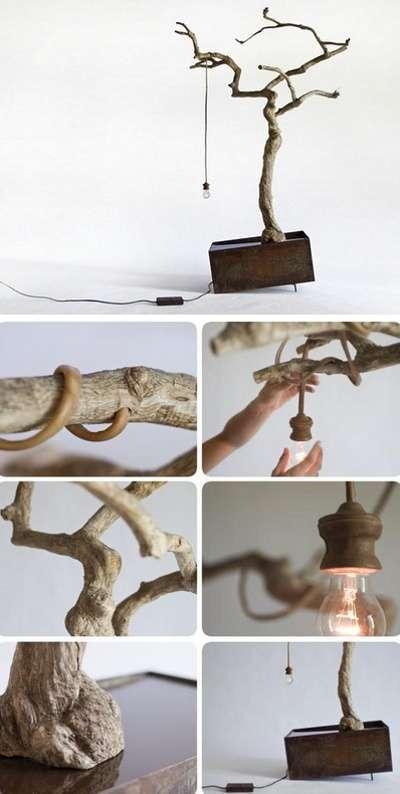 creativo Cómo y troncos de maderas lámparasReciclado hacer dCrsQth
