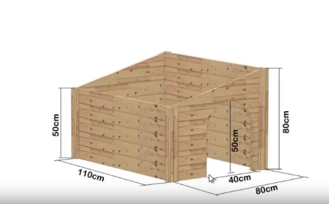 C mo construir una casa para el perro con ideas paso a paso - Como hacer una casa para perro grande ...