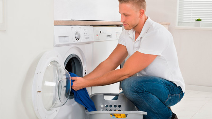 Sexo en la lavadora