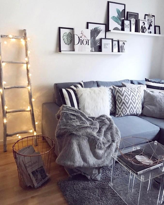ideas geniales para pintar la sala de estar Las Mejores 30 Ideas Para Decorar Una Sala